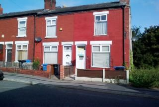 Thumbnail End terrace house to rent in Lark Hill Road, Stockport