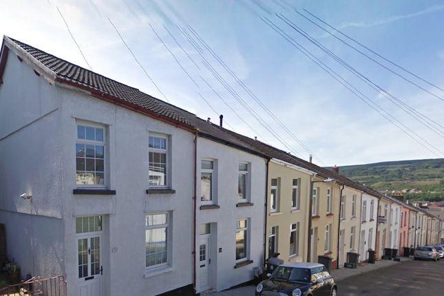 Thumbnail Terraced house to rent in Saxon Street, Merthyr Tydfil