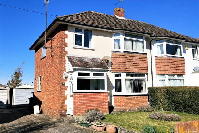 Thumbnail Semi-detached house for sale in Morley Road, Basingstoke