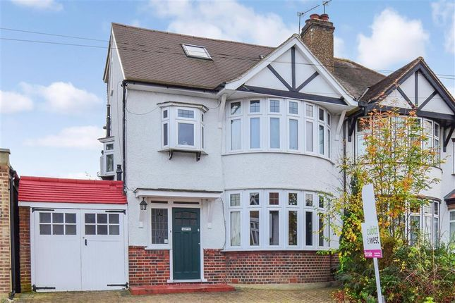 Thumbnail Semi-detached house for sale in Sandy Way, Shirley, Surrey