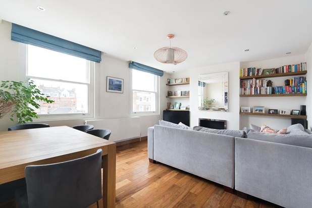 Thumbnail Flat for sale in St Stephens Mansions, London