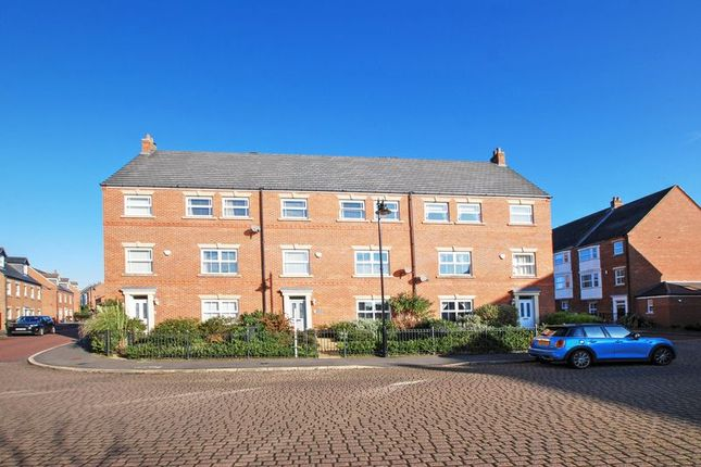 Thumbnail 5 bed terraced house for sale in Netherwitton Way, Gosforth, Newcastle Upon Tyne