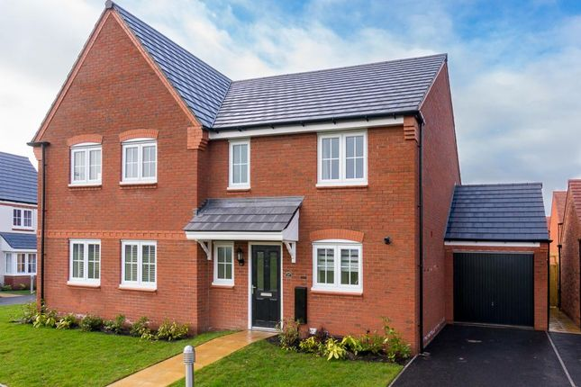 Thumbnail Semi-detached house to rent in Meadowbout Way, Bowbrook, Shrewsbury