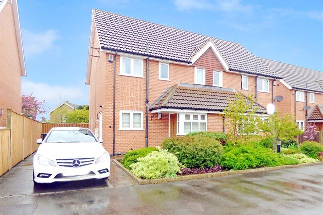Thumbnail Semi-detached house to rent in Brookchase Mews, Chilwell, Nottingham