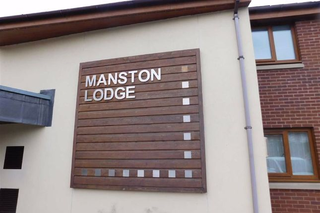 Outside of Manston Lodge, Hampstead Drive, Stockport SK2