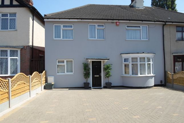 Thumbnail Semi-detached house for sale in Humberstone Drive, Leicester
