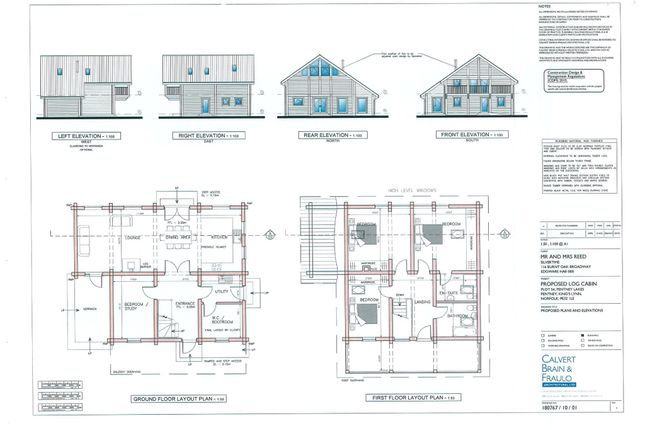 Thumbnail Land for sale in Common Road, Pentney, King's Lynn