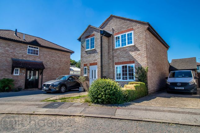 Thumbnail Detached house for sale in Shepherds Croft, Stanway, Colchester
