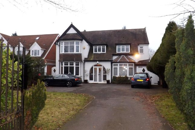 Thumbnail Detached house for sale in Stratford Road, Shirley, Solihull