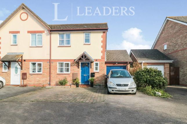 3 bed semi-detached house to rent in Wedgewood Drive, Church Langley, Harlow CM17