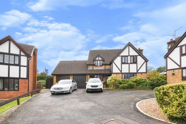 Thumbnail Detached house for sale in Oakleigh Court, Cwmbran