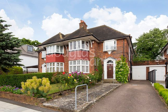 Thumbnail Semi-detached house for sale in Manor Hall Avenue, London