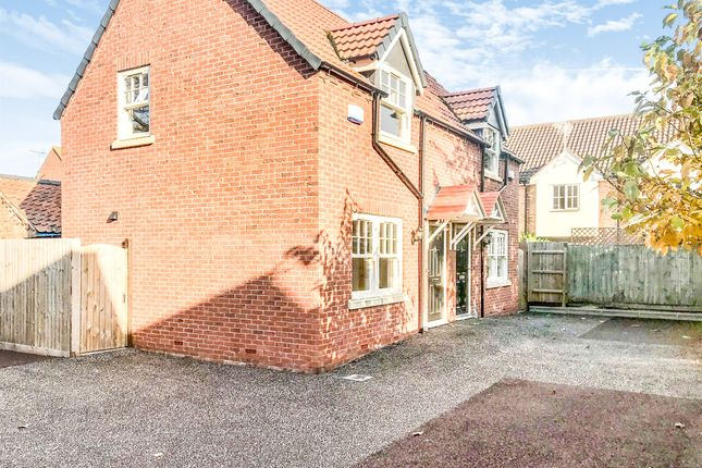 2 bed semi-detached house for sale in Wesley Court, Billingborough, Sleaford NG34