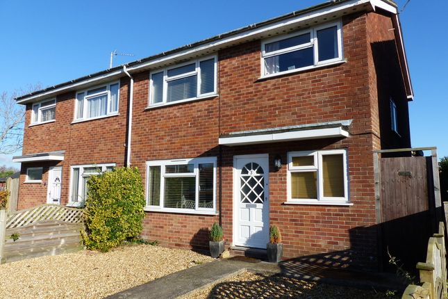 Thumbnail Semi-detached house for sale in Brooks Close, Ringwood