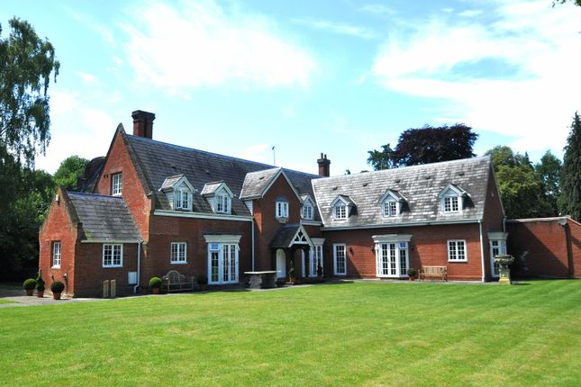 Thumbnail Detached house for sale in Nacton, Ipswich, Suffolk