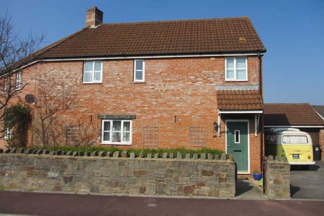 Thumbnail Semi-detached house to rent in Cedern Avenue, Weston-Super-Mare