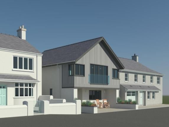 Thumbnail Detached house for sale in High Street, High Street, Rhosneigr, Anglesey