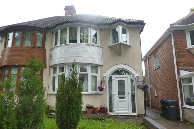 Thumbnail Semi-detached house for sale in Abbotts Road, Erdington, Birmingham