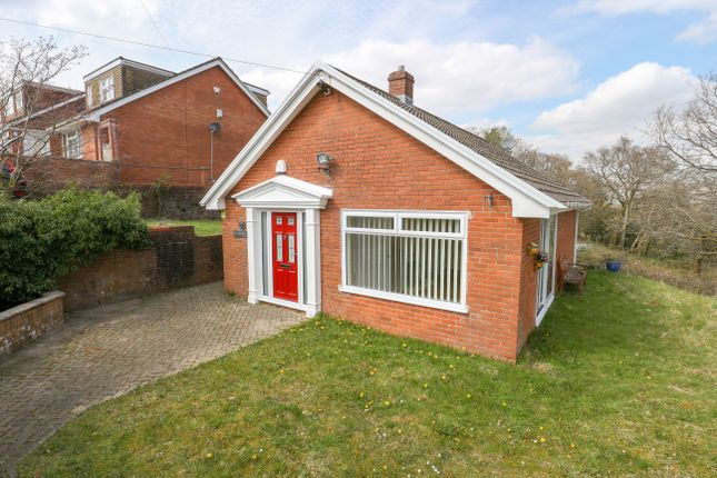 Thumbnail Detached bungalow for sale in Shirley Drive, Heolgerrig, Merthyr Tydfil