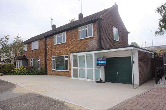 Thumbnail Semi-detached house to rent in Hunter Avenue, Brentwood
