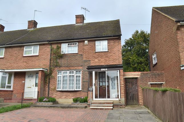 Thumbnail End terrace house for sale in High Road, Leavesden, Watford