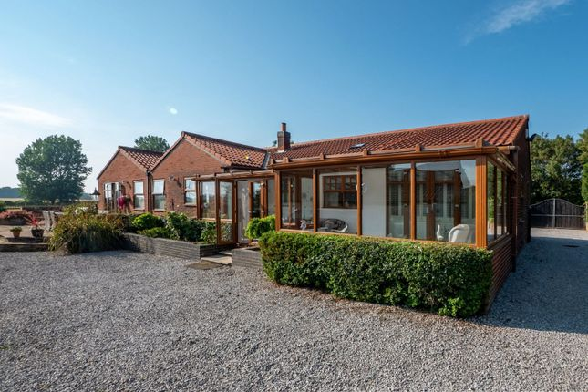 Thumbnail Bungalow for sale in Newfield Lane, Lelley, Hull, East Yorkshire