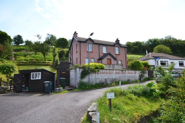Thumbnail Detached house for sale in Glenmore Road, Oban