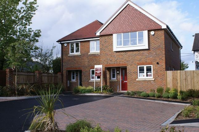 Thumbnail Semi-detached house to rent in Dairy Court, Alton