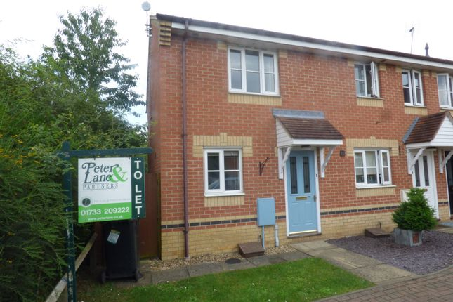Thumbnail Terraced house to rent in Turnstone Way, Stanground