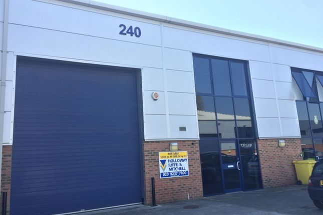 Thumbnail Industrial to let in Unit 240, Ordnance Business Park, Gosport
