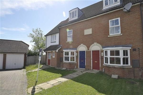 Thumbnail Terraced house for sale in Barley Way, Kingsnorth, Ashford