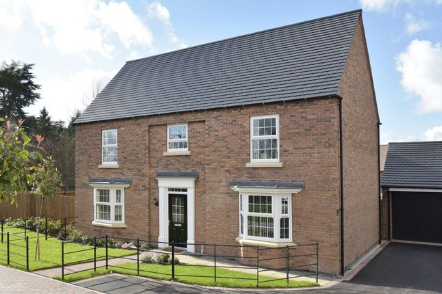 "Thumbnail Detached house for sale in ""Henley"" at Longbreach Road, Kibworth Harcourt, Leicester"