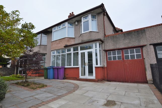 Thumbnail Semi-detached house to rent in Queens Drive, West Derby, Liverpool