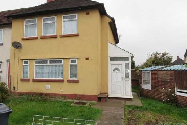 Thumbnail 3 bed end terrace house for sale in Heol Ebwy, Ely, Cardiff