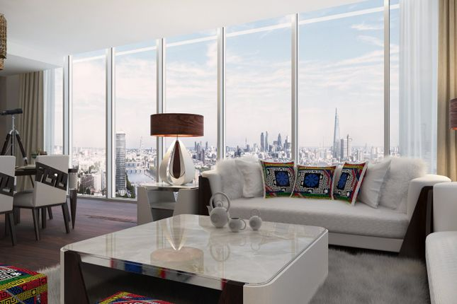 Thumbnail Flat for sale in The Tower, 71 Bondway, Parry Street, London