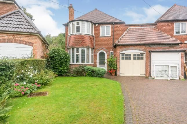 Thumbnail Detached house for sale in Overlea Avenue, Birmingham, West Midlands