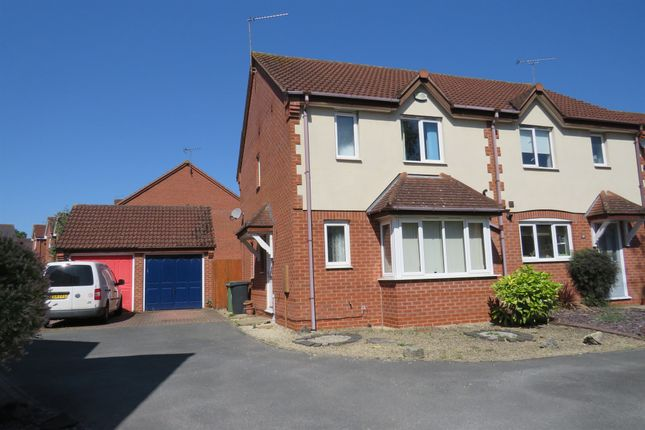 Thumbnail Semi-detached house for sale in Hoskyns Avenue, Worcester