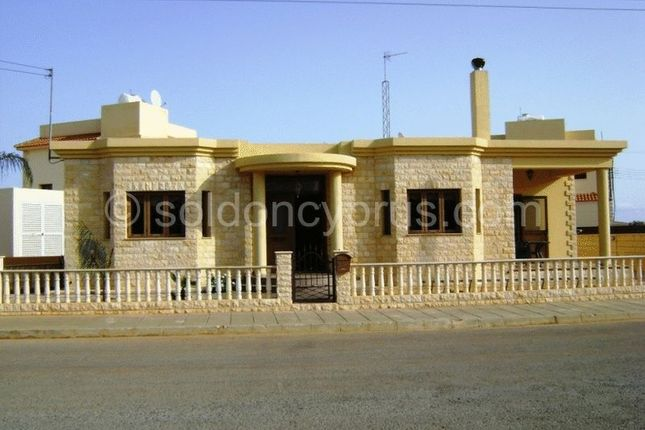 Thumbnail Detached bungalow for sale in Liopetri, Famagusta, Cyprus