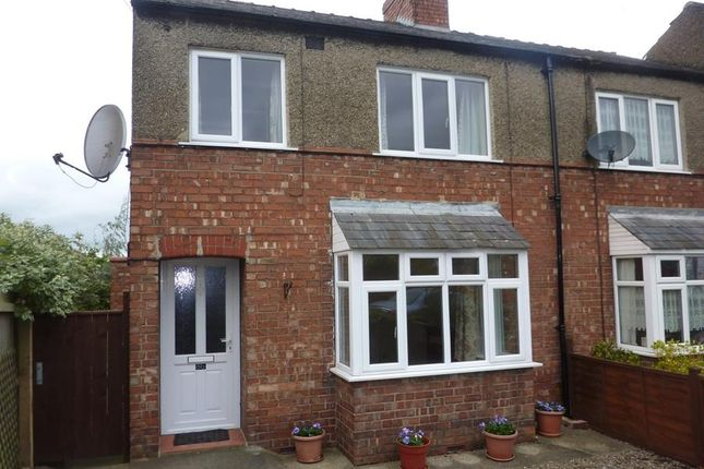 Thumbnail Terraced house to rent in Malpas Road, Northallerton