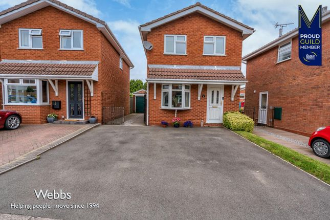 Thumbnail Detached house for sale in Merrill Close, Cheslyn Hay, Walsall