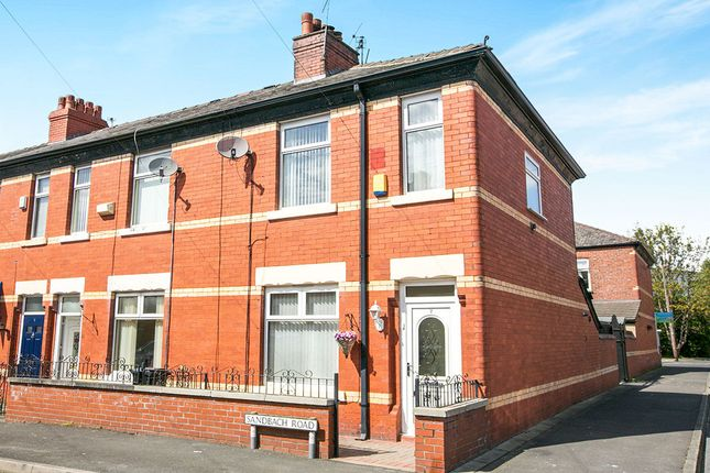 Thumbnail Terraced house for sale in Sandbach Road, Reddish, Stockport