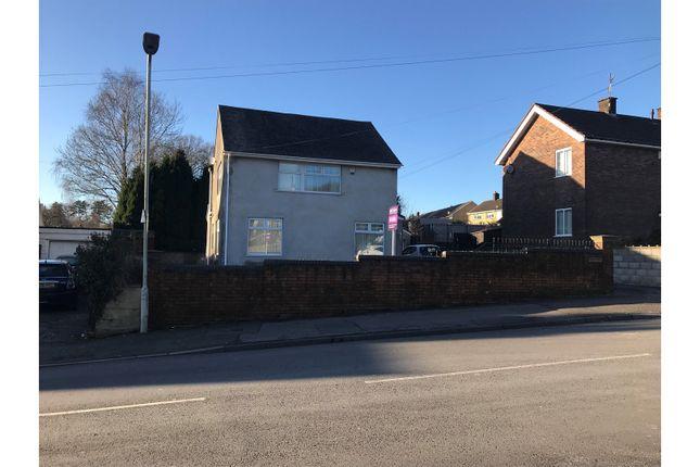 Thumbnail Detached house for sale in Gurnos Road, Merthyr Tydfil