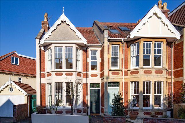 Thumbnail End terrace house for sale in St Albans Road, Westbury Park, Bristol