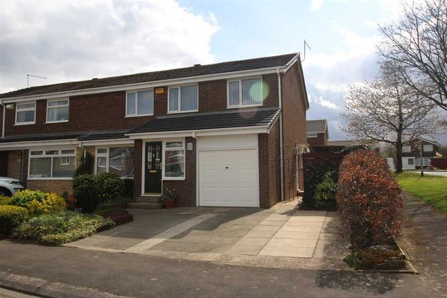 Semi-detached house for sale in Nairn Road, Parkside Chase, Cramlington