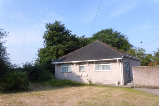 Thumbnail Detached bungalow for sale in Heol Broom, Maudlam, Bridgend