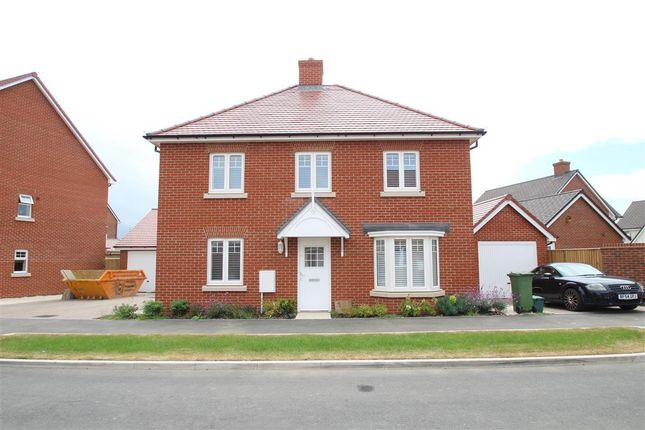 Thumbnail Detached house to rent in Carriage Road, Broughton, Aylesbury