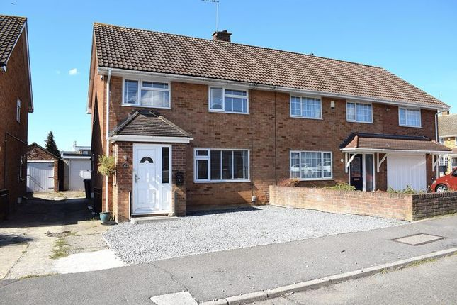 Thumbnail Semi-detached house for sale in Sakins Croft, Harlow, Essex