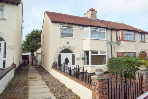 Thumbnail Semi-detached house to rent in Grainger Avenue, West Kirby, Wirral