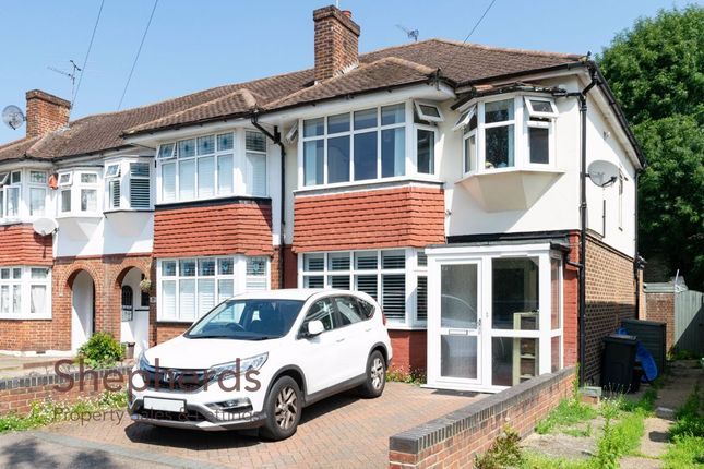 Thumbnail End terrace house for sale in College Road, Cheshunt, Hertfordshire
