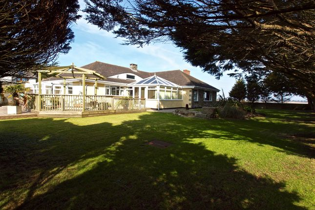 Thumbnail Detached bungalow for sale in Gwithian Road, Connor Downs, Hayle